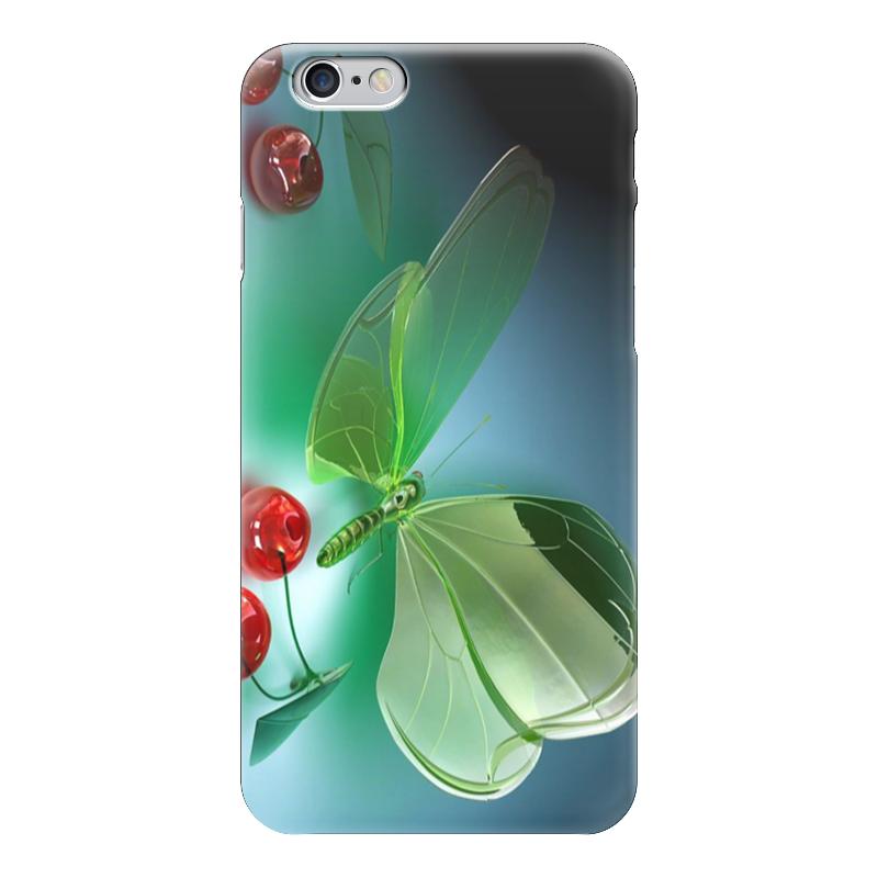 Чехол для iPhone 6 глянцевый Printio Стрекоза и вишня татьяна лемеш путь пешки 6 стрекоза