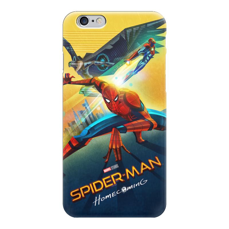 Чехол для iPhone 6 глянцевый Printio Spider-man чехол для iphone 6 глянцевый printio человек муравей ant man
