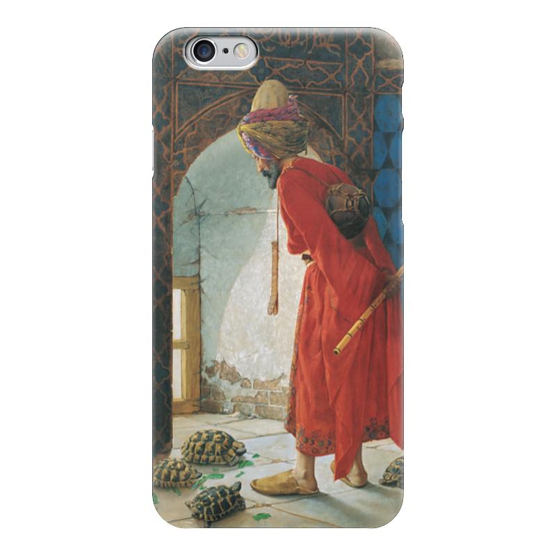 Чехол для iPhone 6 глянцевый Printio Дрессировщик черепах островок для водных черепах киев