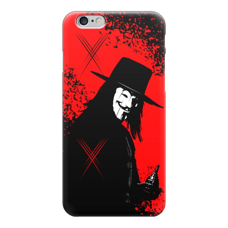 Чехол для iPhone 6 глянцевый Printio Vendetta!!! чехол для iphone 6 глянцевый printio сад на улице корто сад на монмартре ренуар