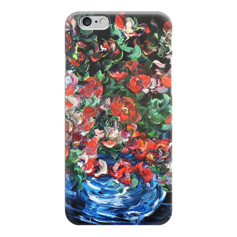 Чехол для iPhone 6 глянцевый Printio Красные розы белоснежка набор для вышивания красные розы