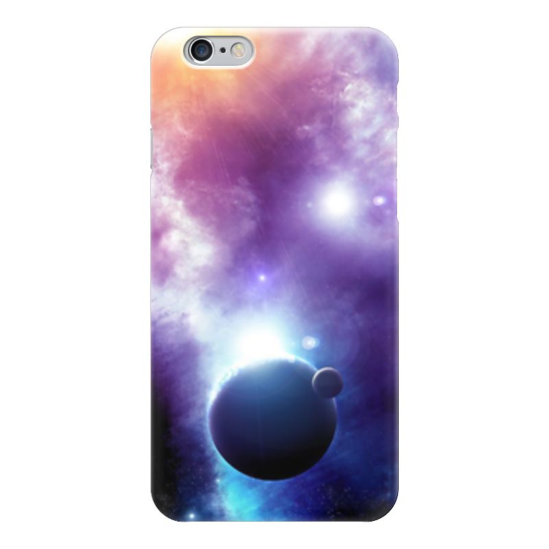 Чехол для iPhone 6 глянцевый Printio Universe увлекательный космос для самых маленьких