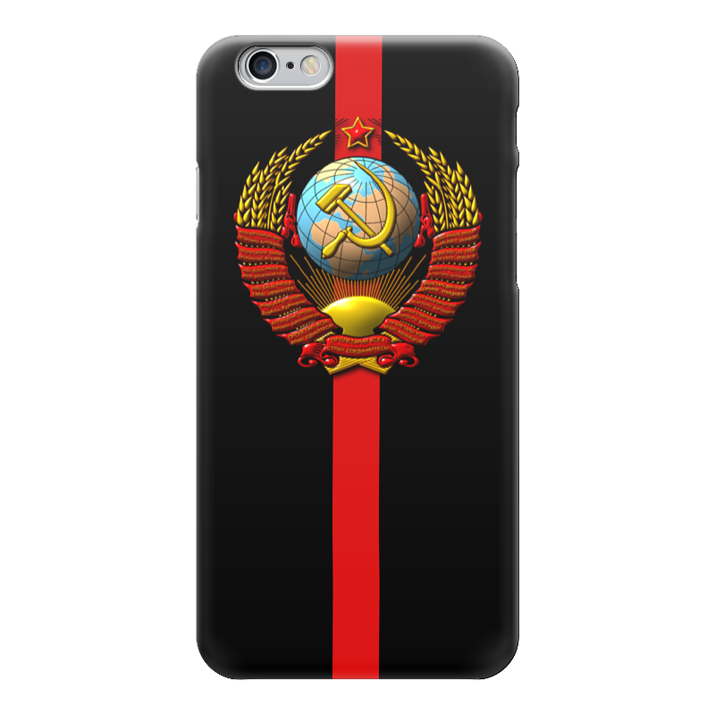 Чехол для iPhone 6 глянцевый Printio Ссср! чехол для iphone 5 глянцевый с полной запечаткой printio паспорт ссср