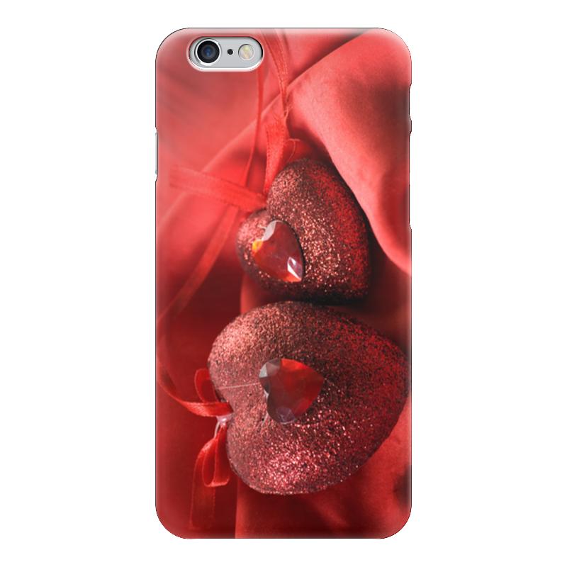 Чехол для iPhone 6 глянцевый Printio Два сердца чехлы для телефонов chocopony чехол для iphone 7plus сердца на бирюзовом 2 арт 7plus 152