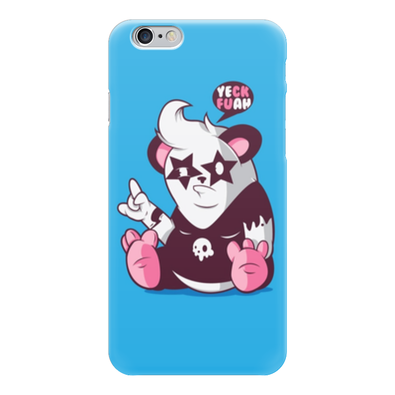 Чехол для iPhone 6 глянцевый Printio Панда (kiss) позиционеры для сна candide позиционер с подголовником воздухопроницаемая панда air