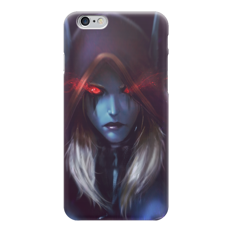 Чехол для iPhone 6 глянцевый Printio Sylvanas windrunner game wow lich king sylvanas windrunner figma anime darkness ranger lady pvc action figure toy brinquedos kids birthday toys 6