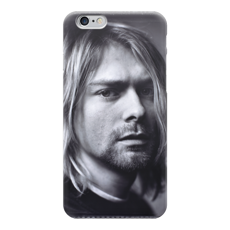 Чехол для iPhone 6 глянцевый Printio Kurt cobain сумка printio kurt cobain sounds