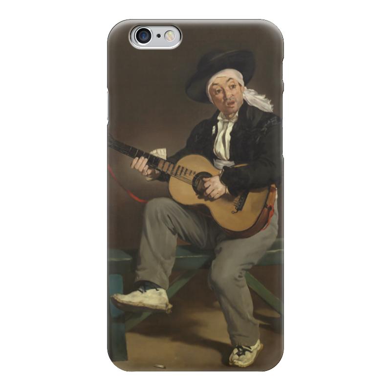 Чехол для iPhone 6 глянцевый Printio Испанский гитарист испанский топор truper le 3m 14978