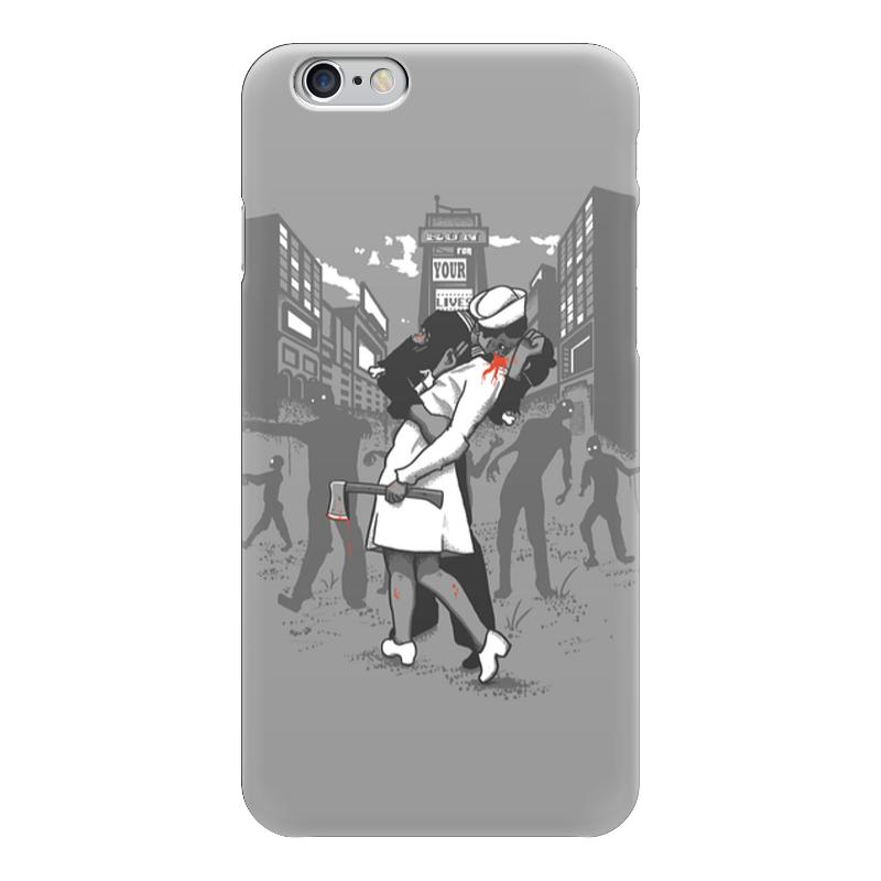 Чехол для iPhone 6 глянцевый Printio Поцелуй навылет прашкевич г земля навылет