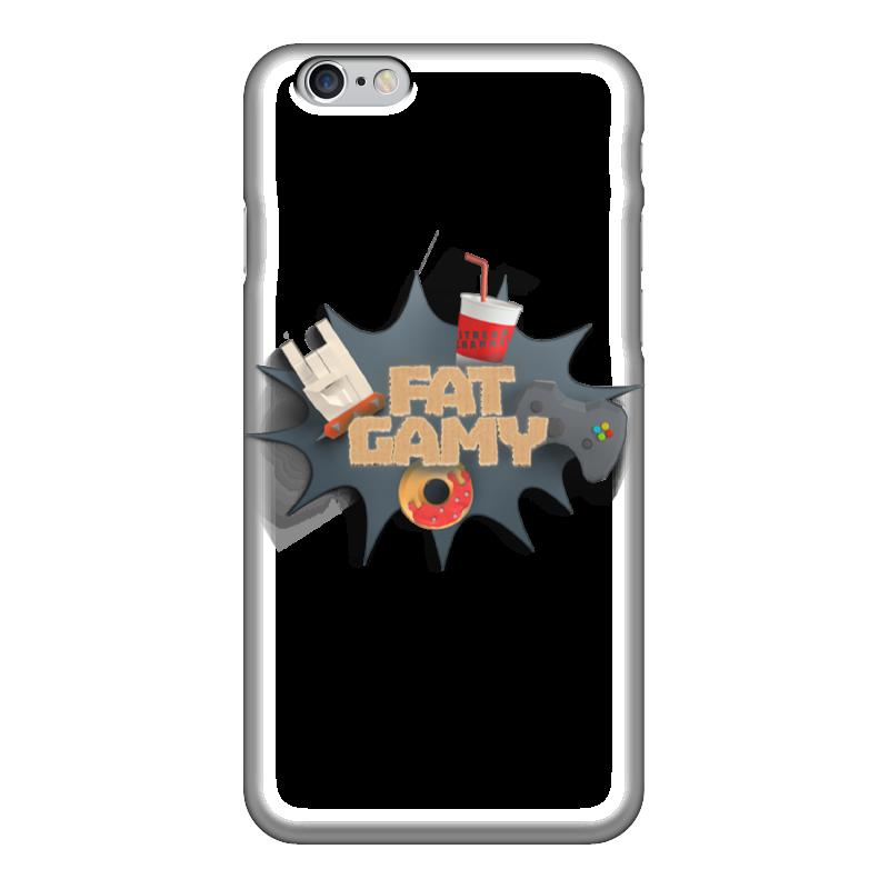 Чехол для iPhone 6 глянцевый Printio Fatgamy iphone 6 чехол для iphone 6 глянцевый printio красавица и чудовище