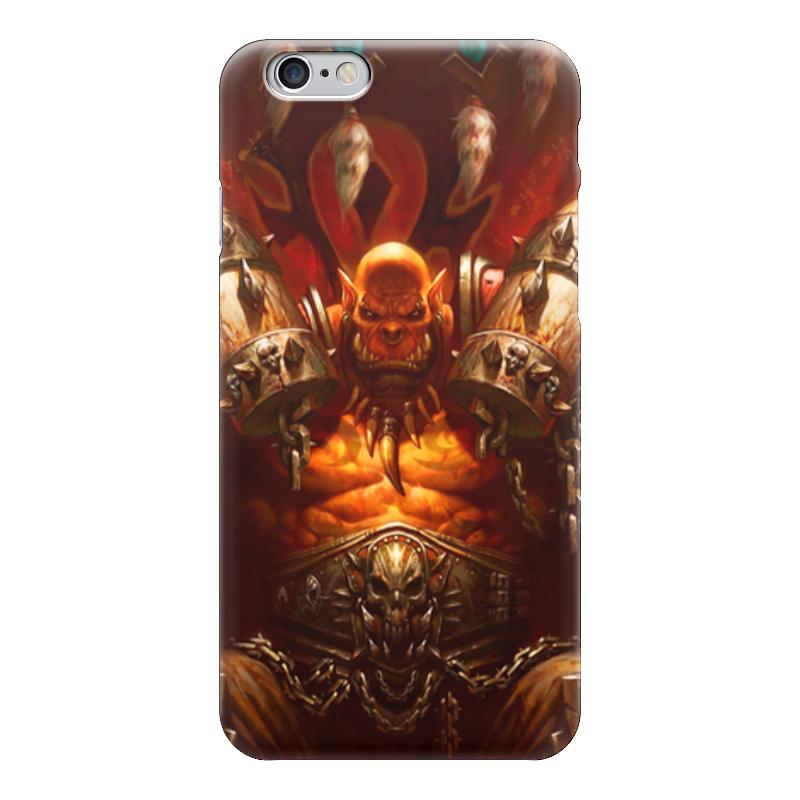 Чехол для iPhone 6 глянцевый Printio Warcraft collection: ork чехол для iphone 6 глянцевый printio world of warcraft
