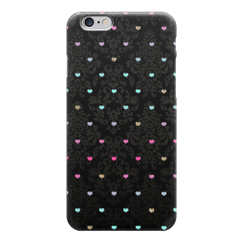Чехол для iPhone 6 глянцевый Printio Сердечки чехол для iphone 6 глянцевый printio розовые сердечки