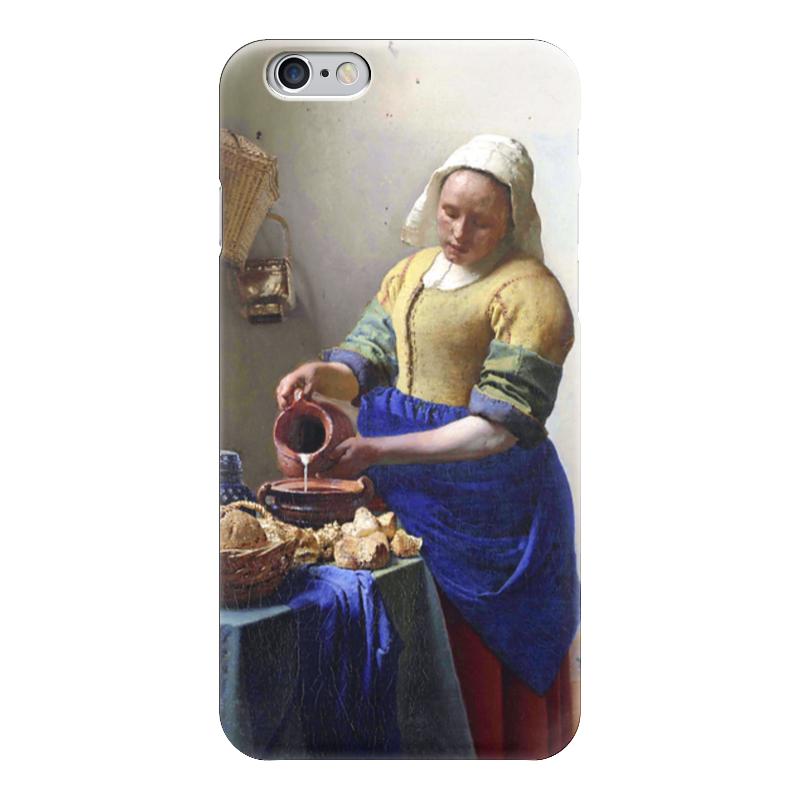 Чехол для iPhone 6 глянцевый Printio Молочница (картина вермеера) лопе де вега девушка с кувшином
