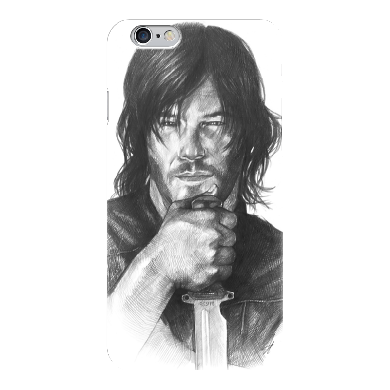 Чехол для iPhone 6 глянцевый Printio The walking dead daryl dixon ‎norman reedus chris norman chris norman the best