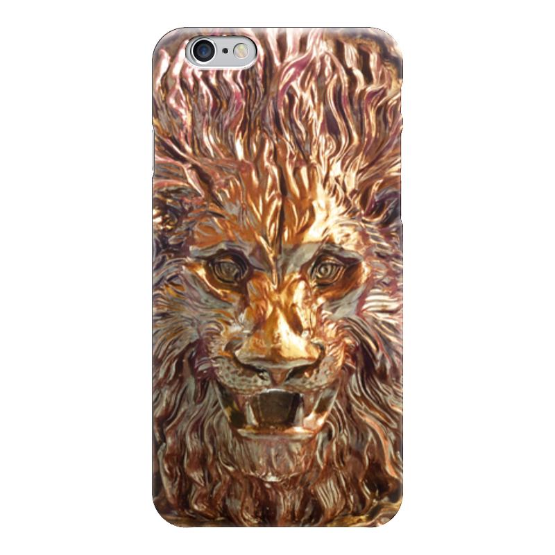 Чехол для iPhone 6 глянцевый Printio Golden leo стоимость