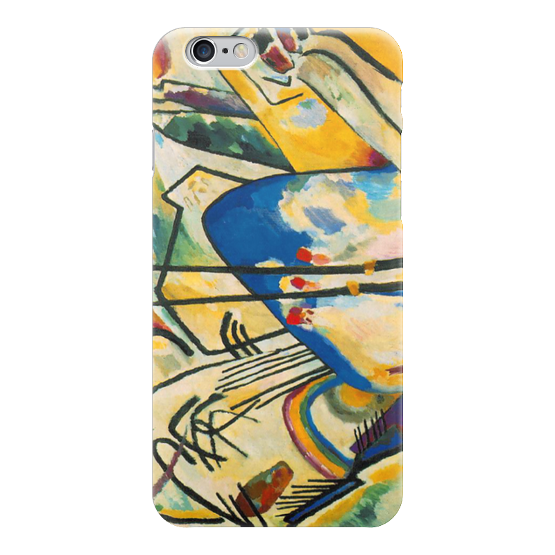 Чехол для iPhone 6 глянцевый Printio Композиция iv (василий кандинский) кандинский блокнот