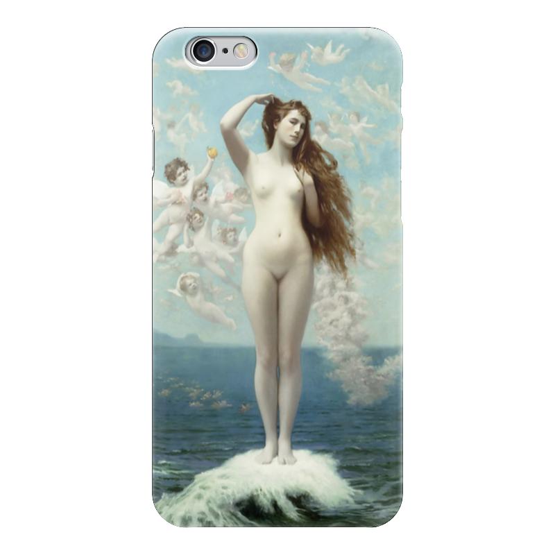 Чехол для iPhone 6 глянцевый Printio Рождение венеры (жан-леон жером) обложка для паспорта printio жан рено леон