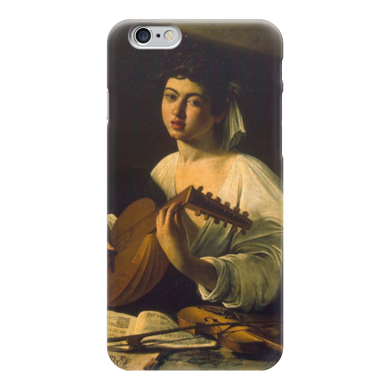 Чехол для iPhone 6 глянцевый Printio Лютнист (караваджо) караваджо