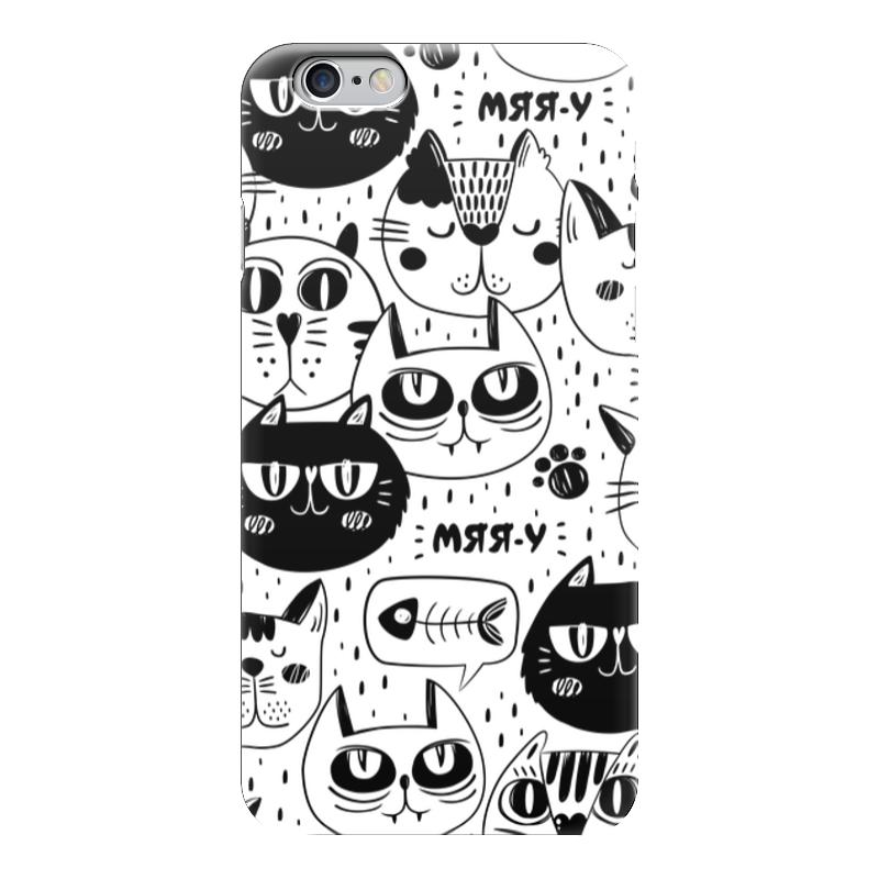 Чехол для iPhone 6 глянцевый Printio Котики чехол для iphone 6 глянцевый printio армянский крест