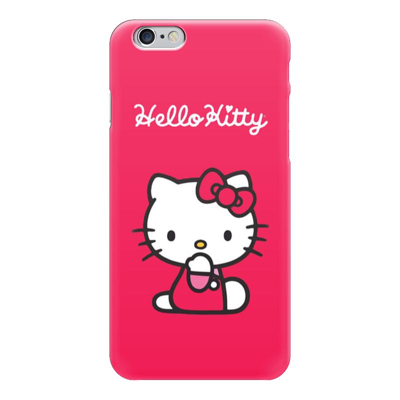 Чехол для iPhone 6 глянцевый Printio Hello kitty памперсы hello для взрослых