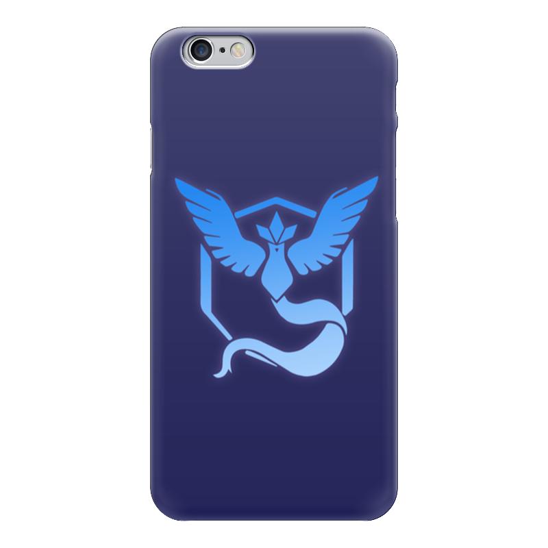 Чехол для iPhone 6 глянцевый Printio Pokemon go: mystic team блокнот printio pokemon go