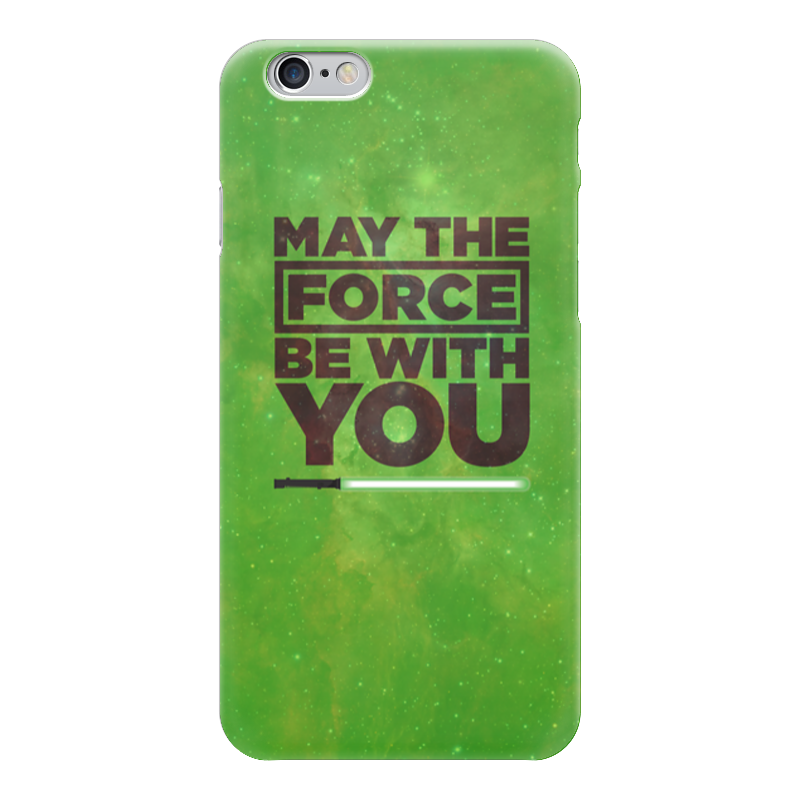 Чехол для iPhone 6 глянцевый Printio May the force be with you simonsen you may plow here – the narrative of sa ra brooks