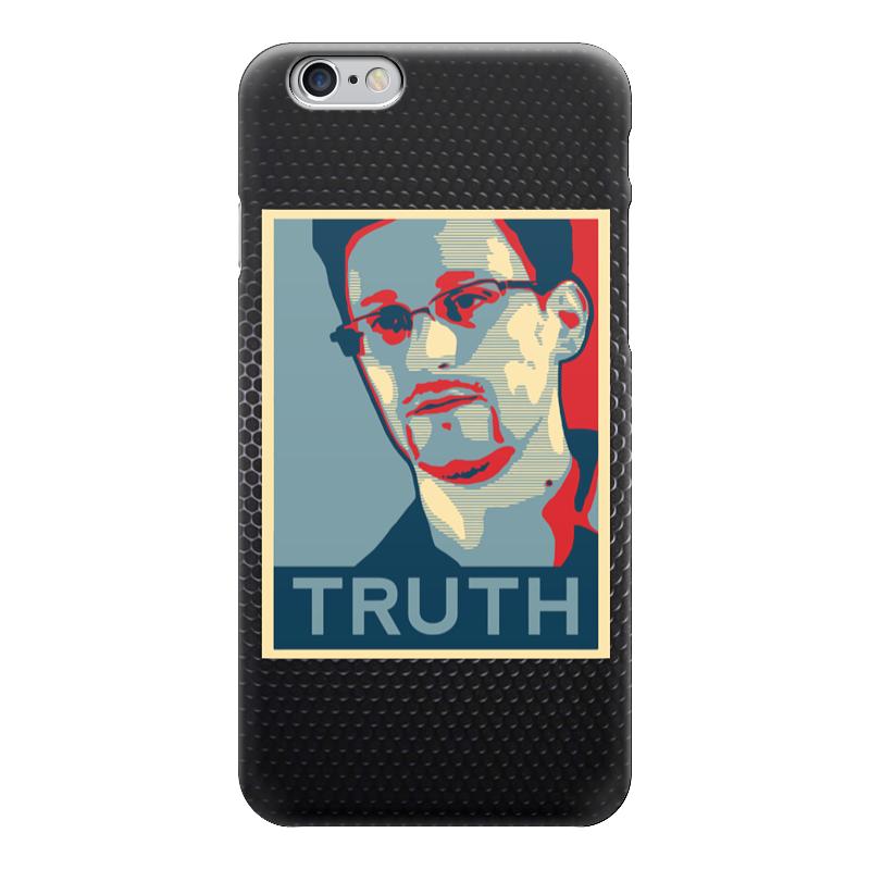 Чехол для iPhone 6 глянцевый Printio Правда (эдвард сноуден) артур эдвард уэйт каббала