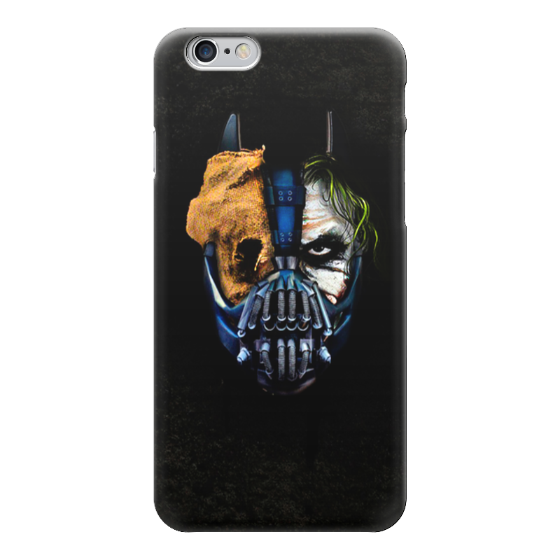 Чехол для iPhone 6 глянцевый Printio Джокер (бэтмен) чехол для iphone 4 глянцевый с полной запечаткой printio бэтмен