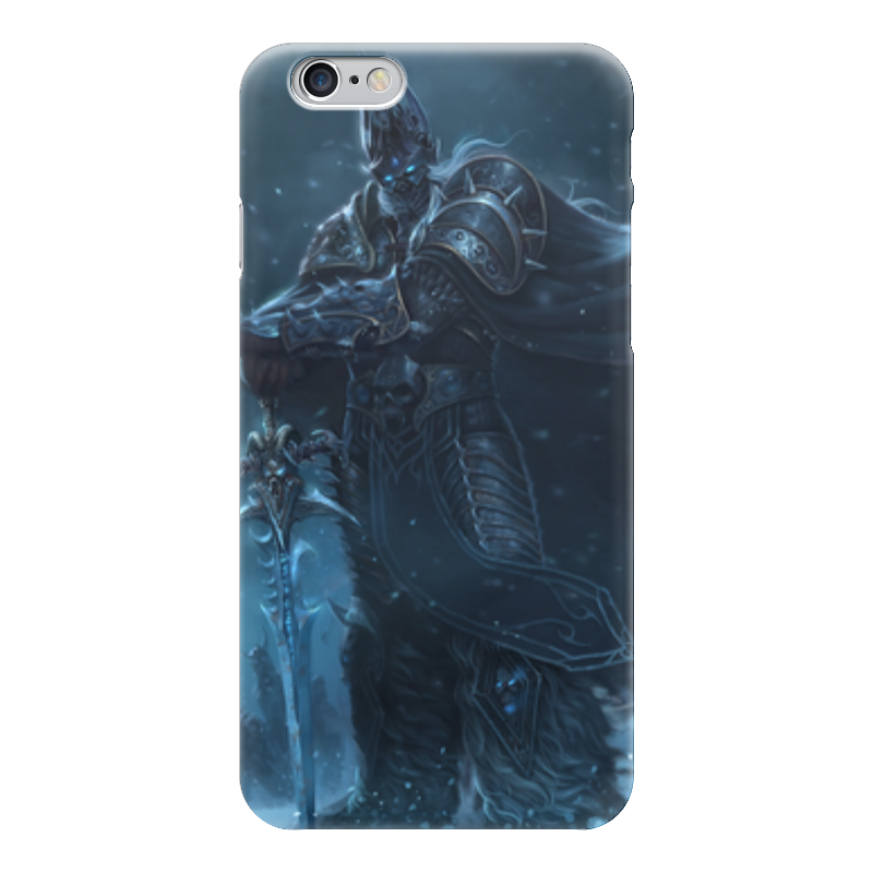 Чехол для iPhone 6 глянцевый Printio Король лич чехол для iphone 5 глянцевый с полной запечаткой printio король лич