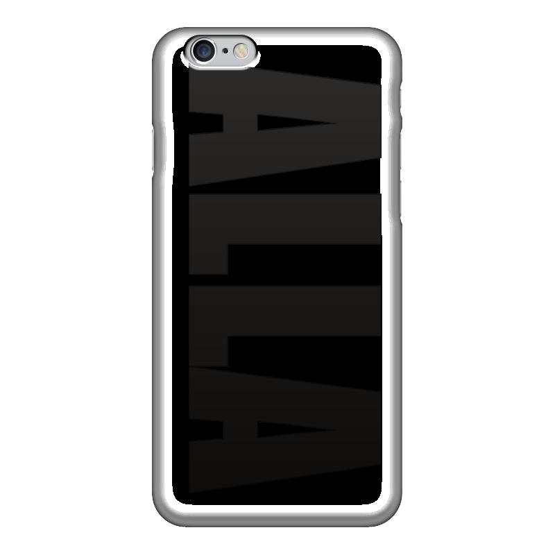 Чехол для iPhone 6 глянцевый Printio С именем алла чехол для iphone 5 printio с именем лариса