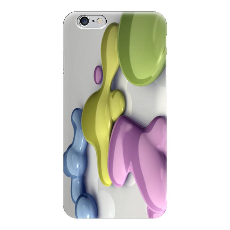Чехол для iPhone 6 глянцевый Printio Разлитая краска чехол для iphone 6 глянцевый printio сад на улице корто сад на монмартре ренуар
