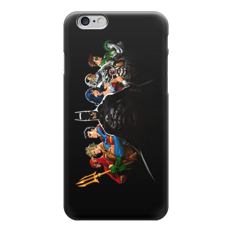 Чехол для iPhone 6 глянцевый Printio Лига правосудия (justice league)