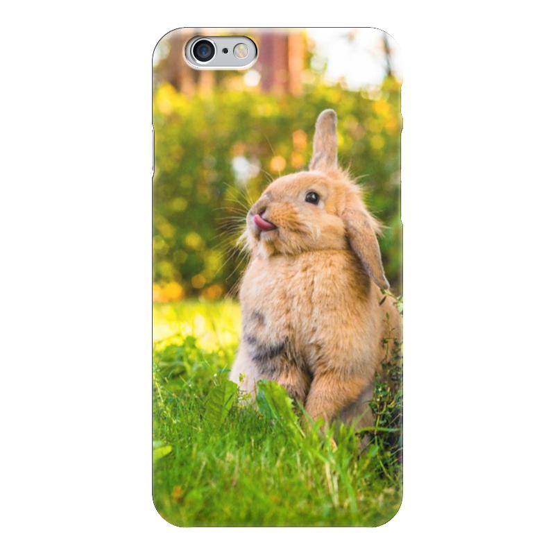 Чехол для iPhone 6 глянцевый Printio Кролик чехол для iphone 6 глянцевый printio кролик