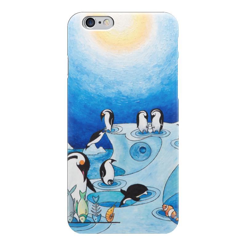 Чехол для iPhone 6 глянцевый Printio Lollypups #11 (the pinguins) чехол для iphone 6 глянцевый printio lollypups 17 the dreamer