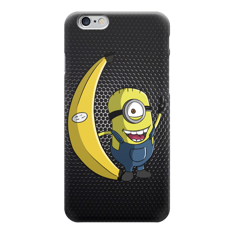 Чехол для iPhone 6 глянцевый Printio Миньон с бананом (гадкий я) чехол для iphone 6 глянцевый printio миньон с бананом гадкий я