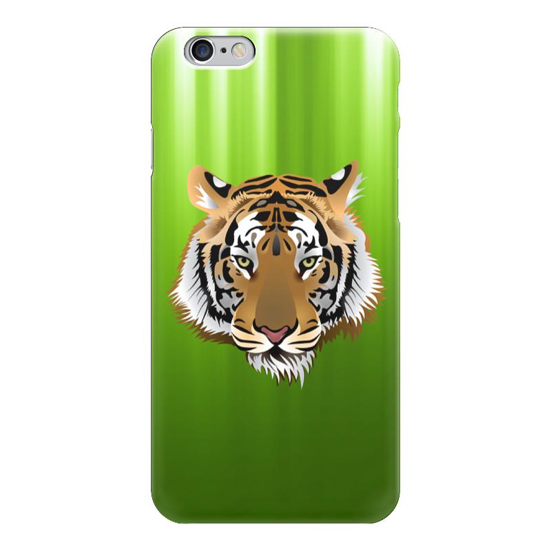 Чехол для iPhone 6 глянцевый Printio Взгляд тигра письмо для тигра