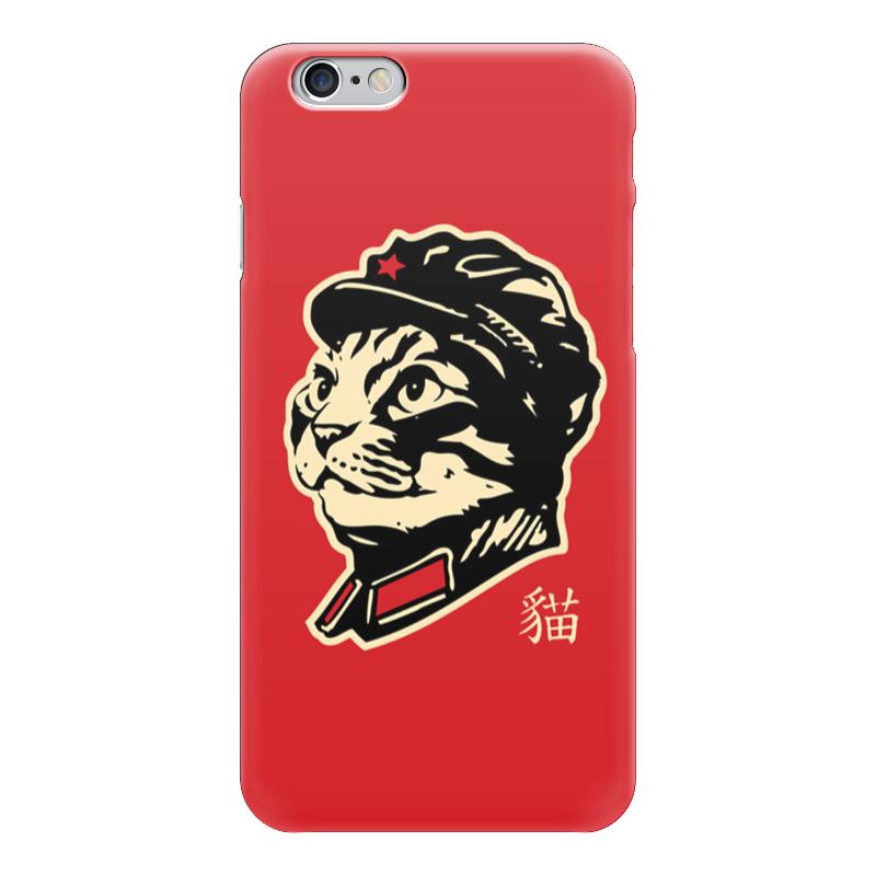 Чехол для iPhone 6 глянцевый Printio Chairman meow