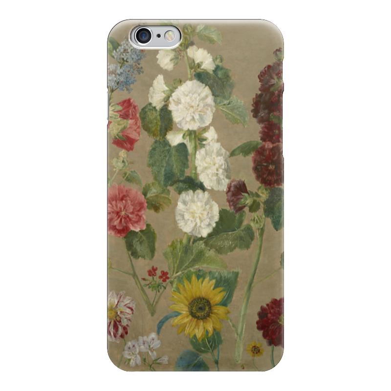 Чехол для iPhone 6 глянцевый Printio Цветы (эжен делакруа)