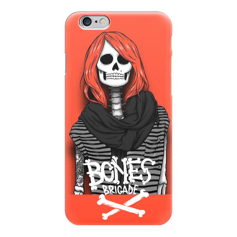 Чехол для iPhone 6 глянцевый Printio Bones brigade футболка с полной запечаткой для мальчиков printio bones brigade