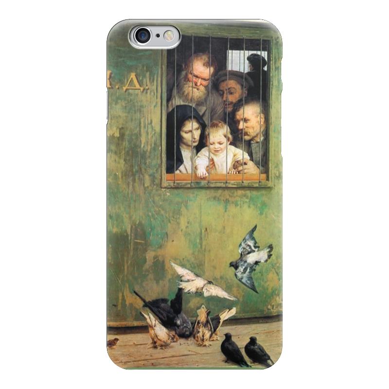 Чехол для iPhone 6 глянцевый Printio Всюду жизнь (картина николая ярошенко) хетч б всюду третий лишний