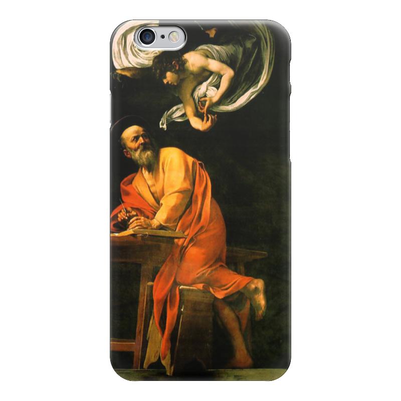 Чехол для iPhone 6 глянцевый Printio Святой матфей и ангел (караваджо) караваджо