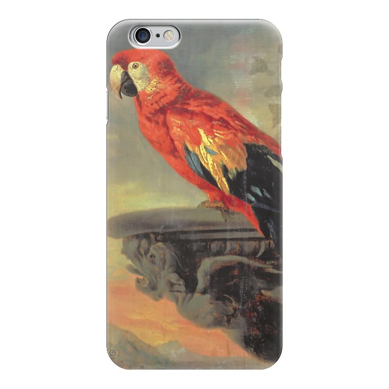 Чехол для iPhone 6 глянцевый Printio Попугай федотова е петер пауль рубенс