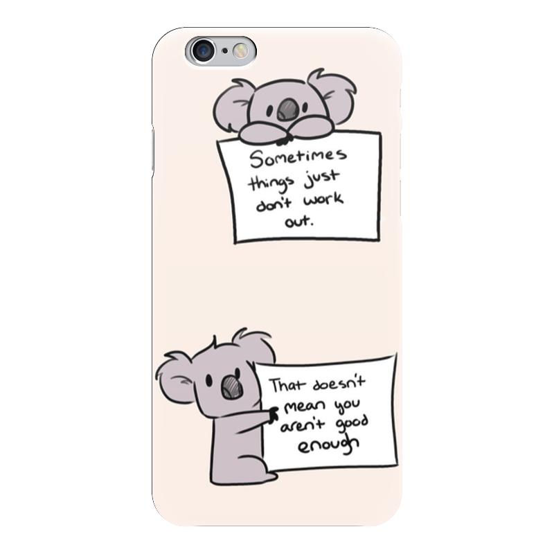 Чехол для iPhone 6 глянцевый Printio Мотивация чехол для iphone 6 глянцевый printio не беспокоить