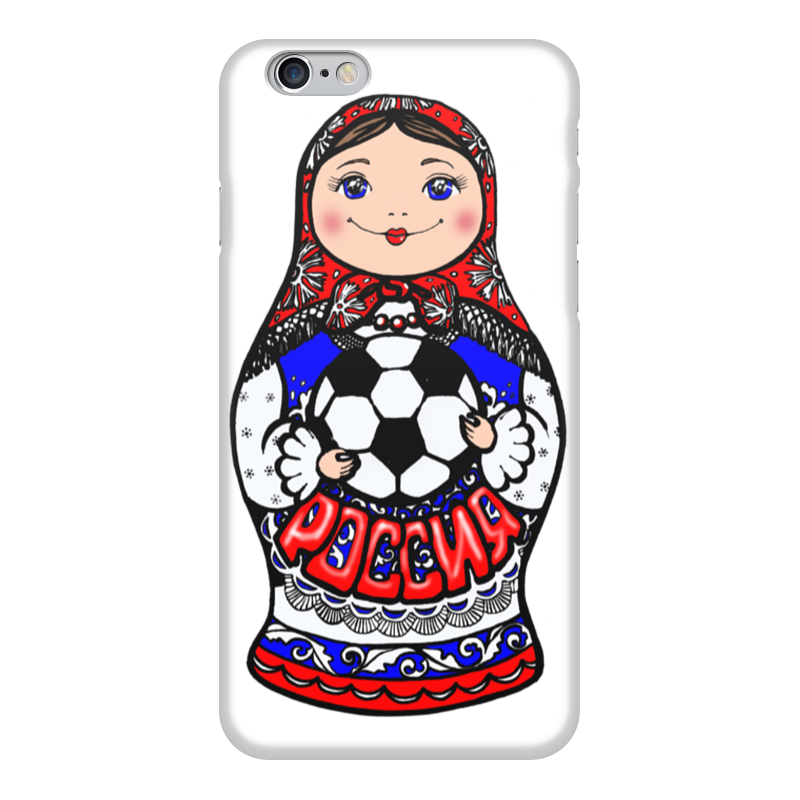 Чехол для iPhone 6 глянцевый Printio Символ россии