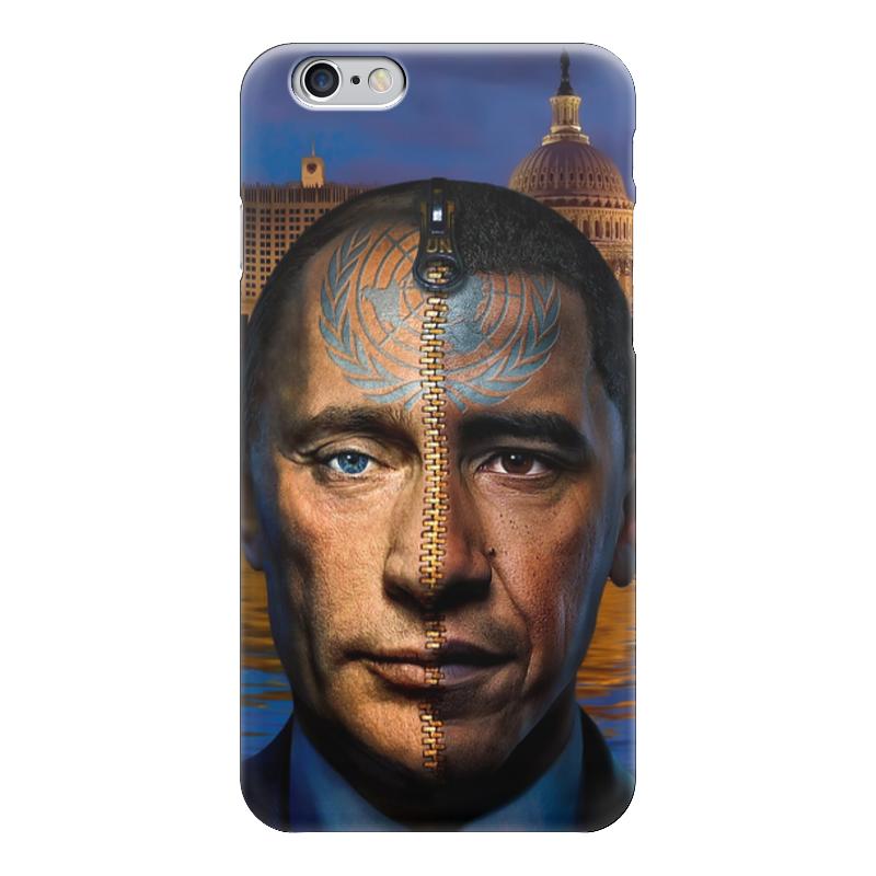 Чехол для iPhone 6 глянцевый Printio Путин / обама чехол для iphone 6 глянцевый printio армянский крест