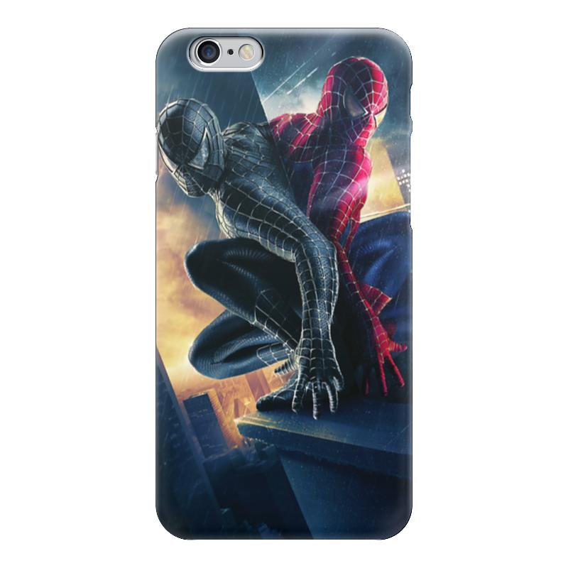 Чехол для iPhone 6 глянцевый Printio Человек - паук чехол для iphone 6 глянцевый printio армянский крест
