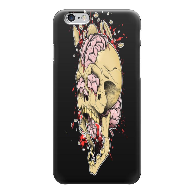 Чехол для iPhone 6 глянцевый Printio Череп чехол для iphone 5 глянцевый с полной запечаткой printio череп художник