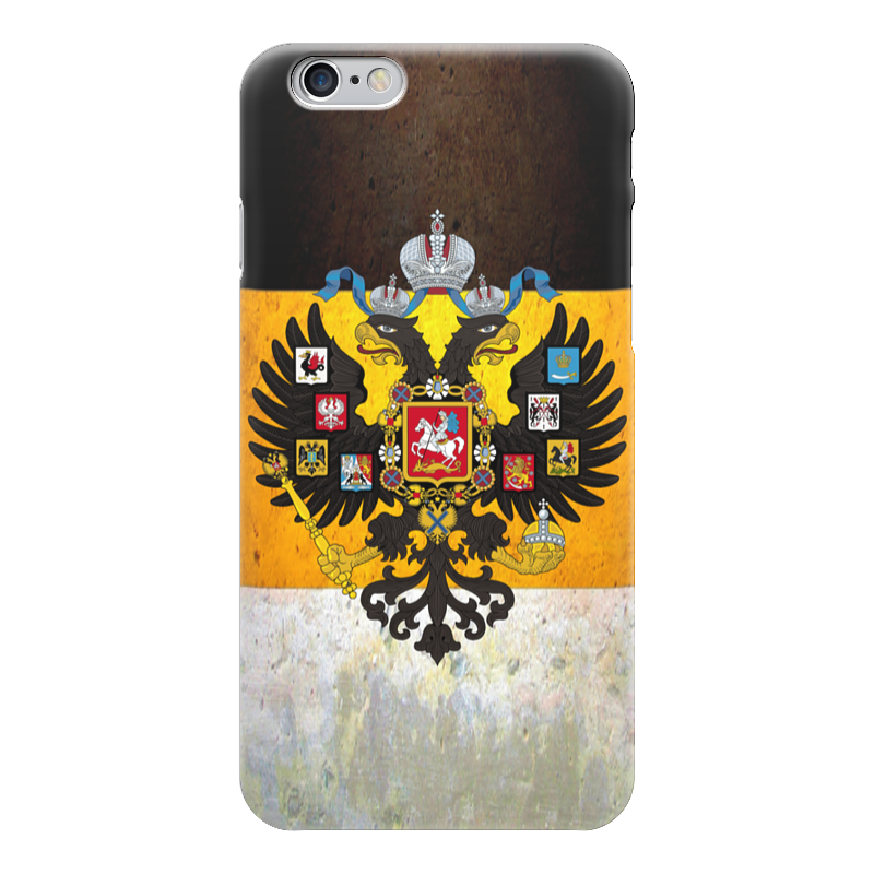 Чехол для iPhone 6 глянцевый Printio Флаг российской империи дмитрий литвин настоящий флаг российской империи – бело жёлто чёрный брошюра настоящий имперский флаг российской империи