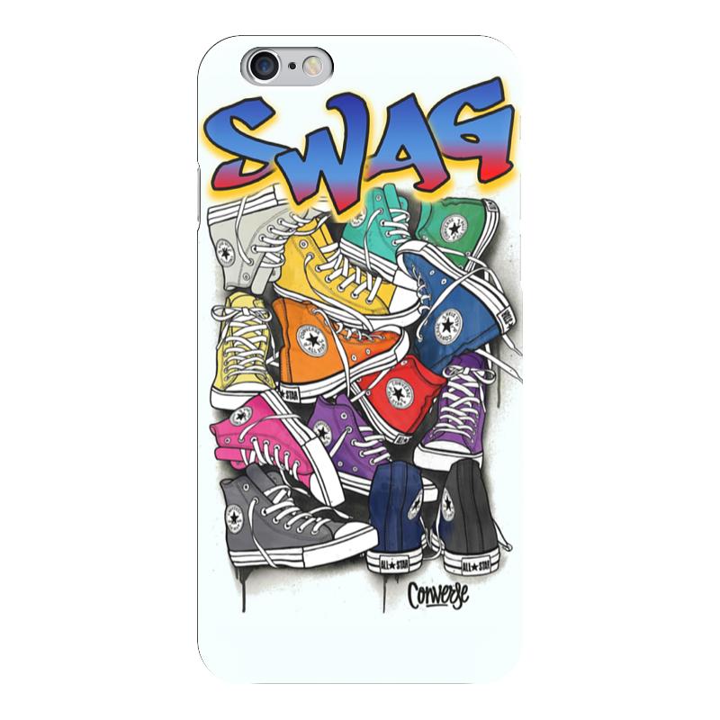 Чехол для iPhone 6 глянцевый Printio Swag art чехол для iphone 7 глянцевый printio horror art