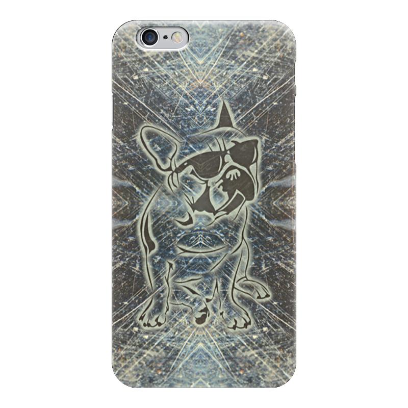Чехол для iPhone 6 глянцевый Printio Doggy чехол для iphone 4 глянцевый с полной запечаткой printio дуэйн скала джонсон
